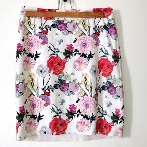 Icône floral skirt size small